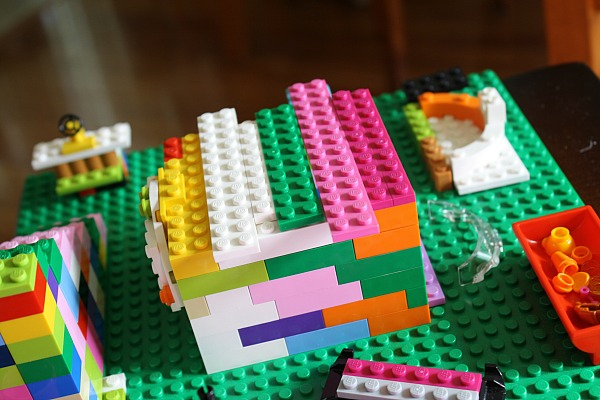 Lego puppy playground